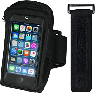 i2 Gear Armband for Running & Exercise - Workout MP3 Holder with Adjustable Arm Band & Zipper Pocket – Universal Armband for iPod Touch 5th & 6th Generation (20 inch)