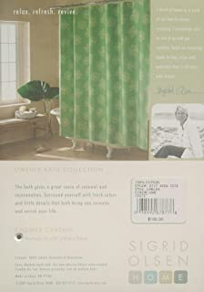 Green Limelife Shower Curtain by Sigrid Olsen Home