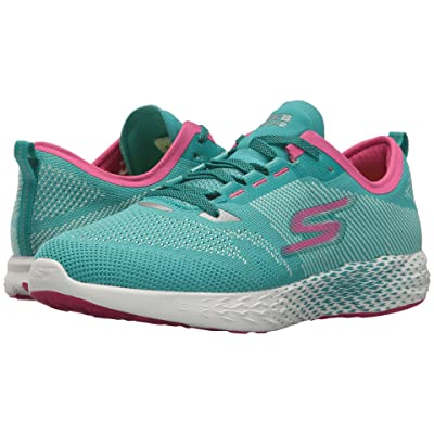 SKECHERS Go Meb Razor 2 (Turquoise/Pink) Women