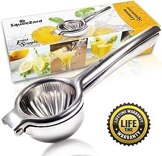 SqueeZard Squeezer-Professional P Big Size Citrus, Lime and Small Orange Manual Juicer -