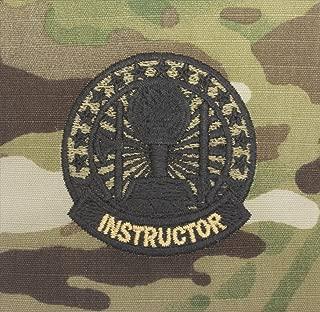 Army Sew-on Instructor Badge Scorpion (OCP)