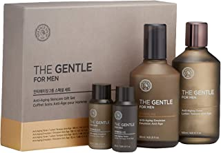 The Face Shop The Gentle Anti-Aging Skincare Gift Set For Men, 1 count