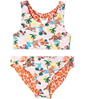 Kenzo Kids - Reversible Two-Piece Printed Swimsuit (Big Kids)