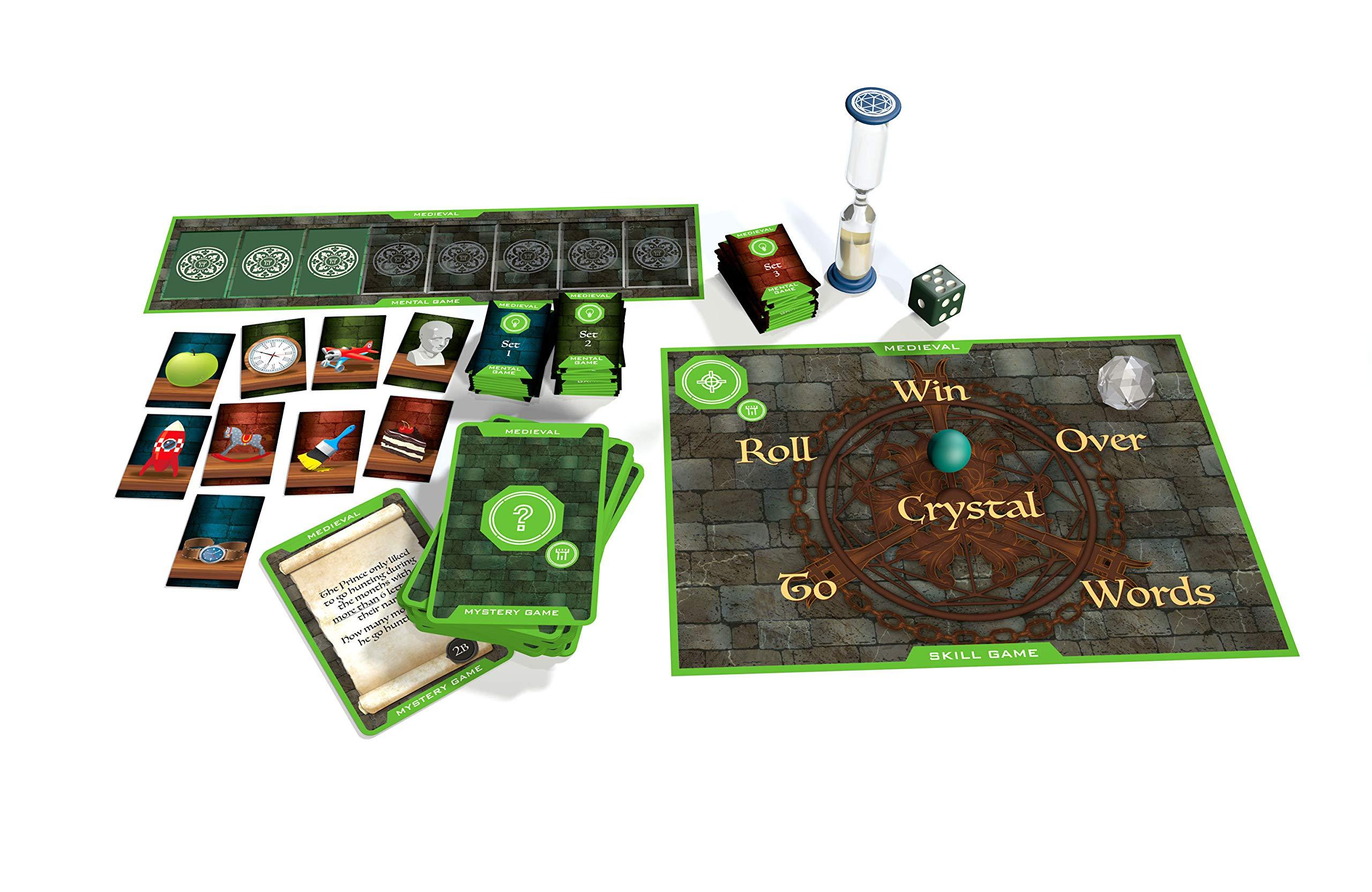 Juego de mesa The Crystal Maze , color/modelo surtido: Amazon.es: Juguetes y juegos