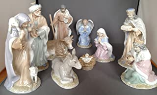 The Valencia Collection 10-piece Nativity Set