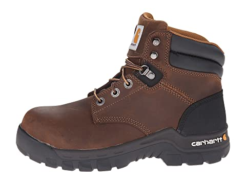 ac1f5e9c7f9 Carhartt 6 Inch Brown Rugged Flex® Work Boot | Zappos.com