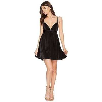 Show Me Your Mumu Eva Dress (Black Pleat) Women