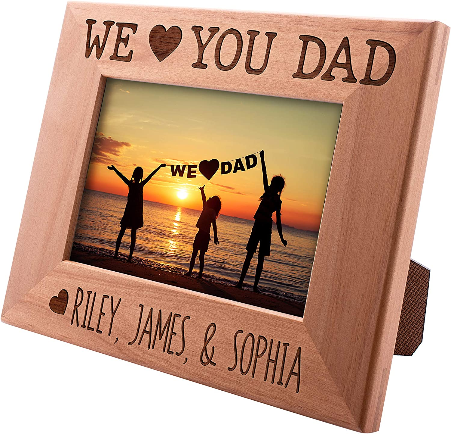 Dad Gifts Personalized Picture Frame Horizont Free Shipping Cheap Bargain Special sale item Gift - for in 4x6