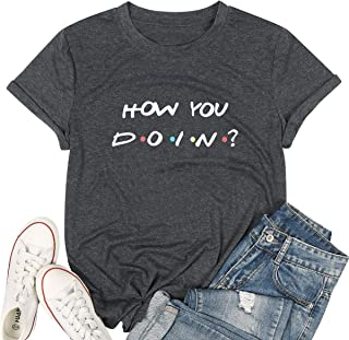 MNLYBABY Go Ask Your Dad Funny T-Shirt Womens Letter Print Short Sleeve Tops Graphic Tees