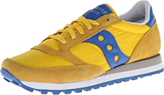 Saucony Originals Jazz Original Women, Sneaker Donna, Multicolore (Multicolore Giallo Blu), 42.5 EU