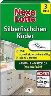 Nexa Lotte Silberfischchen-Köder, Hochwirksame Leimfalle zur Bekämpfung von..