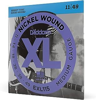 Daddario Exl115 Elektro Gitar Tel Seti, Xl, 11-49, Nickel Wound, B