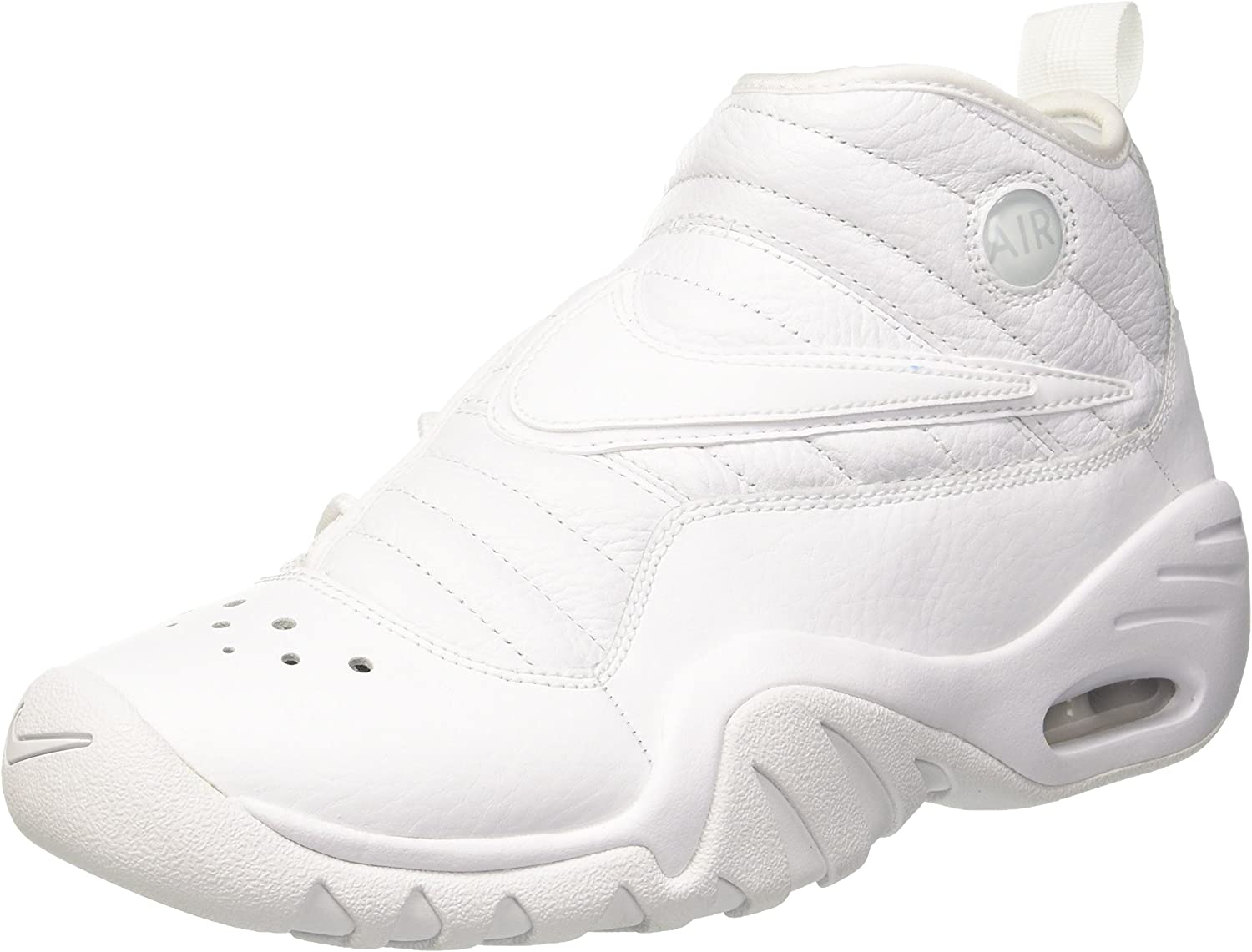 Nike Men's Air Shake Ndestrukt, White WhiteWhite, 7.5 M US