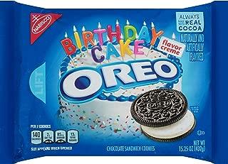 Oreo Birthday Cake Sandwich Cookies (15.25-Ounce Package)