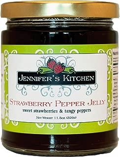 Jennifer's Kitchen Pepper Jelly, Strawberry