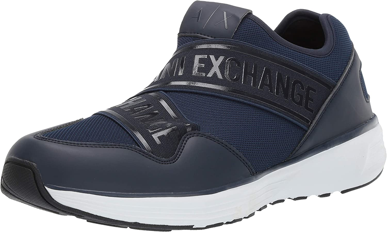 A X Armani Exchange Men's Low Top Slip on Sneaker