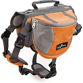 PETTAIL Hound Dog Saddlebags Hiking Gear Equipment Backpack Lightweight for Tactical Training, Travel