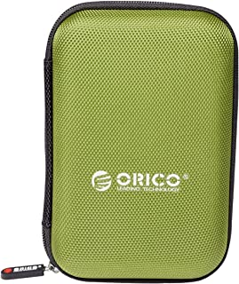 ORICO Hard Drive Disk Case,Protective Carrying Shell For Travel Electronic Accessories, Organizer Bag For 2.5 Inch Hard Dr...