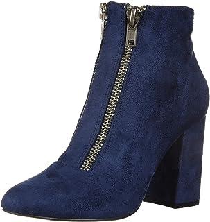 Michael Antonio Women's Jocelyn حذاء للكاحل للسيدات، أزرق داكن، 6 M US
