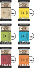 Kate's Real Food Granola Bars 12 Pack | Variety Pack 2 of Each Flavor | Clean Energy, Organic Ingredients, Gluten Free, Non GMO | All Natural Delicious Health Snack