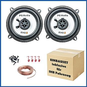 Citroen Nemo Porte avant Orateurs FLI Haut-parleurs de voiture adaptateur pour haut-parleur gousses 150/W
