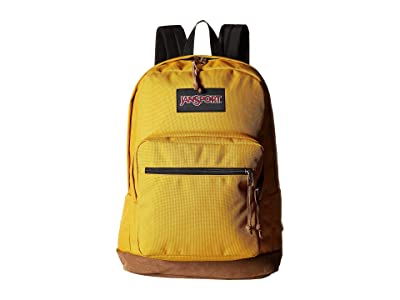 JanSport Right Pack (English Mustard) Backpack Bags