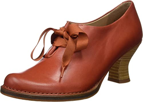 Neosens S833 Restorojo Skin, zapatos de tacón con Punta Cerrada para mujer