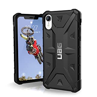 URBAN ARMOR GEAR UAG iPhone XR [6.1-inch Screen] Pathfinder Feather-Light Rugged [Black] Military Drop Tested iPhone Case