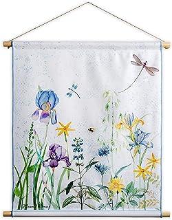 Belgian Tapestrie Vitragestange zum Aufhängen von Wandbehängen Fleur  35-60 cm