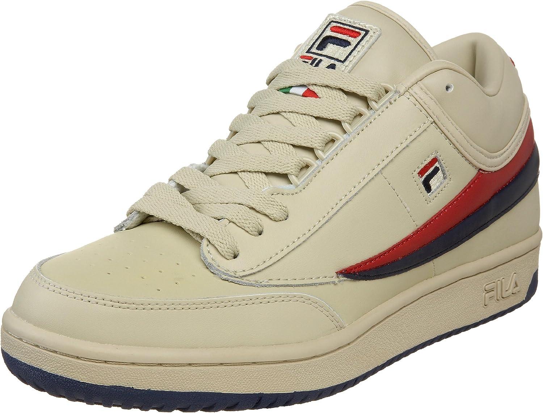 Fila 1VT034LX Män T1 T1 T1 MID Vintage Tennis skor  hög kvasi