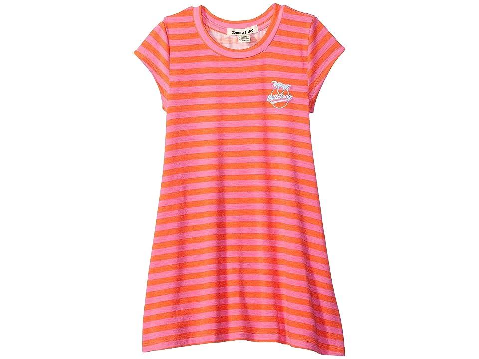 Billabong Kids Field Dreams Dress (Little Kids/Big Kids) (Poppy) Girl