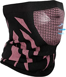 Winter Neck Warmer Gaiter, Balaclava Face Mask Windproof Thermal Soft Elastic for Men and Women