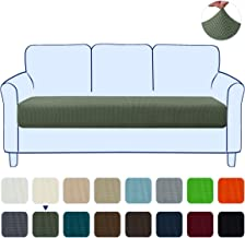 subrtex Couch Slipcover RV Seater Slip Loveseat Stretch Durable Sofa Cushion Cover Spandex Elastic Furniture Protector for Settee Seat for Replacement in Livingroom (Large,Olive Drab)