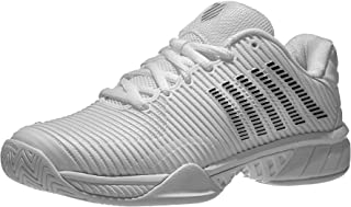 K-Swiss Women's Hypercourt Express 2 Tennis Shoe, White/Black (US Size 5)