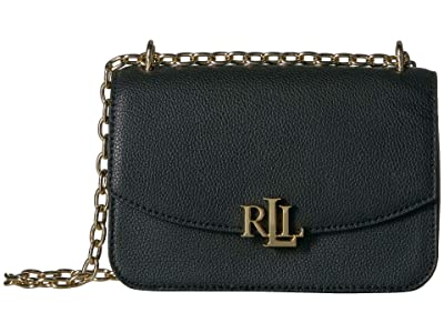 LAUREN Ralph Lauren Elmswood Madison 22 Crossbody (Black) Handbags