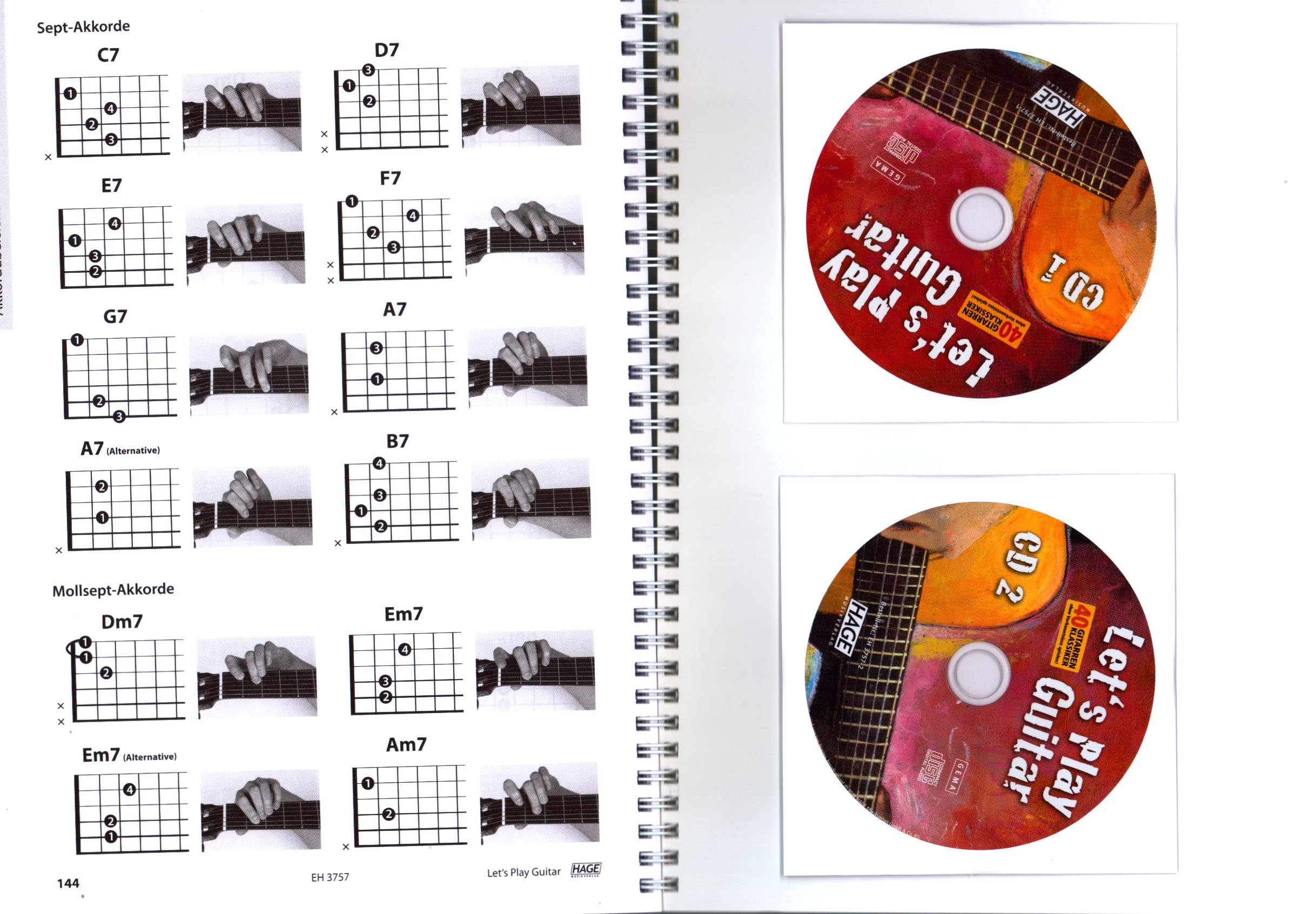 Let s Play Guitar banda 1 con 2 CD, DVD y Dunlop Púa – Songbook y ...