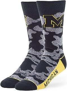 NCAA Men's '47 Bayonet Casual Dress Crew Socks, Large, 1-Pack