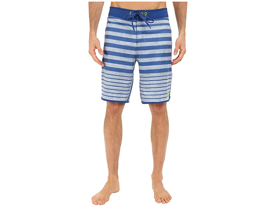The North Face Whitecap Boardshorts (Limoges Blue Chambray Stripe (Prior Season)) Men
