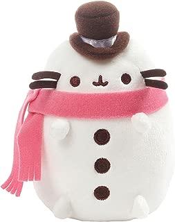 GUND Pusheen Christmas Snowman Plush Stuffed Cat, 6