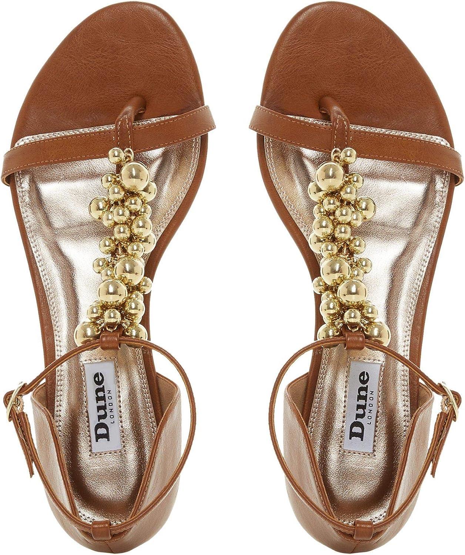 Bar Flat Sandals Flat Heel