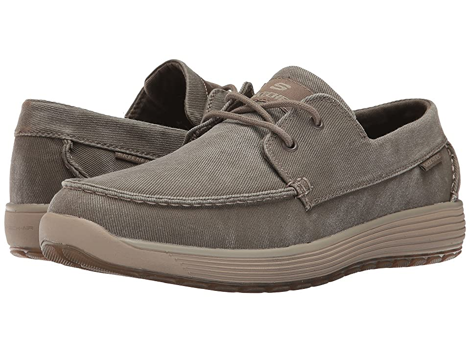 SKECHERS Classic Fit Venick Romeno (Khaki) Men