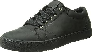MOZO Men's Maverick Leather Slip Resistant Sneaker