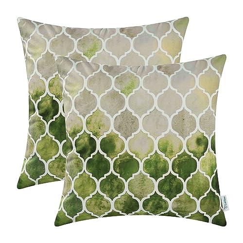 Remarkable Green Throw Pillows Amazon Com Ibusinesslaw Wood Chair Design Ideas Ibusinesslaworg