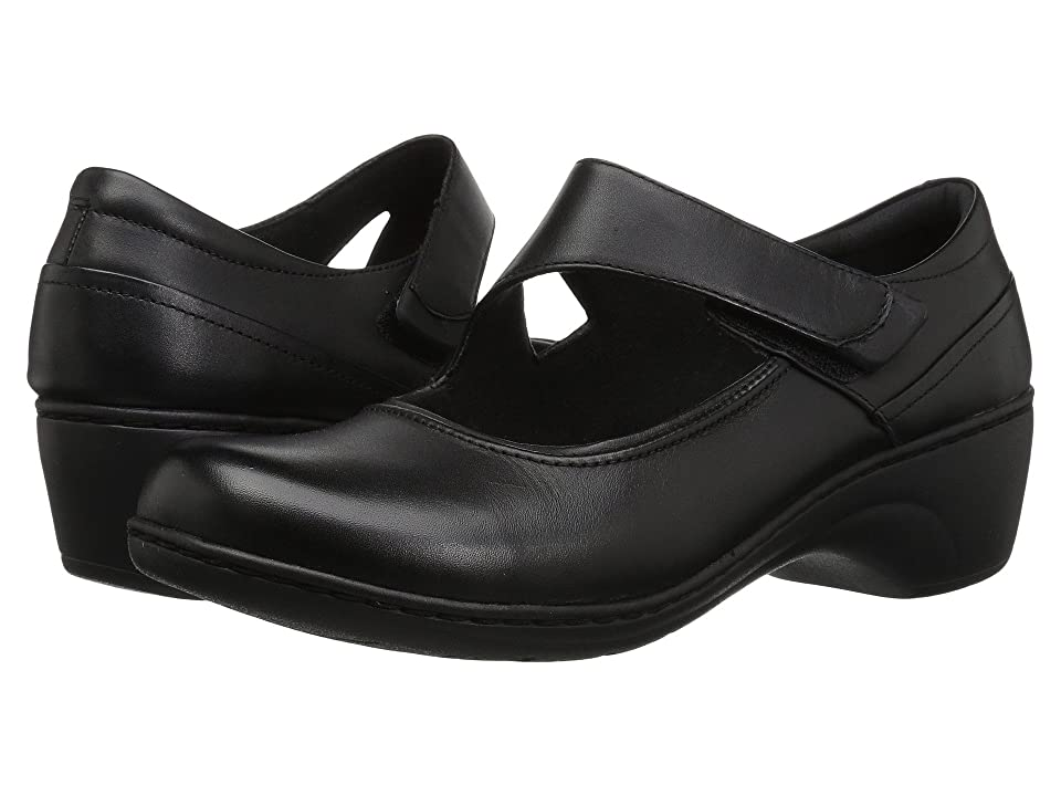 Clarks Channing Penny (Black Leather) Women