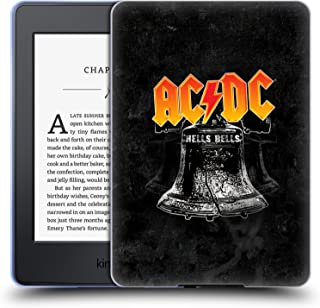 Official AC/DC ACDC Hells Bells Song Titles Soft Gel Case Compatible for Kindle Paperwhite 1/2 / 3