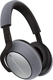 Bowers & Wilkins FP41297 PX7 Noise Cancelling Wireless Headphones, Large - Silver