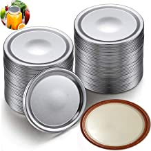 36 Pcs Canning Lids, Wide Mouth Mason Jar Lids, Replacement Split-Type Leak Proof, Secure Canning Caps for Canning, 3 Doze...