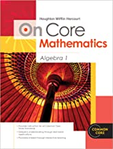 Houghton Mifflin Harcourt On Core Mathematics: Reseller Package Algebra 1