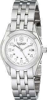 Victorinox Women's 24663 Analog Display Swiss Quartz Silver Watch