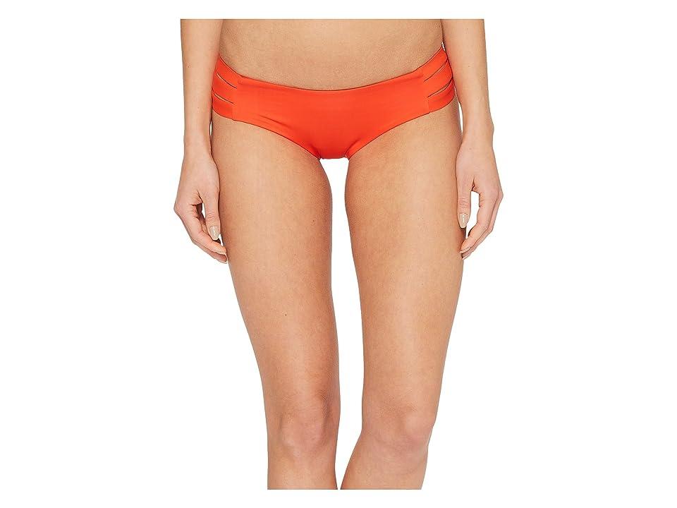 Vitamin A Swimwear Emelia Triple Strap Bottom (Papavero Ecolux) Women